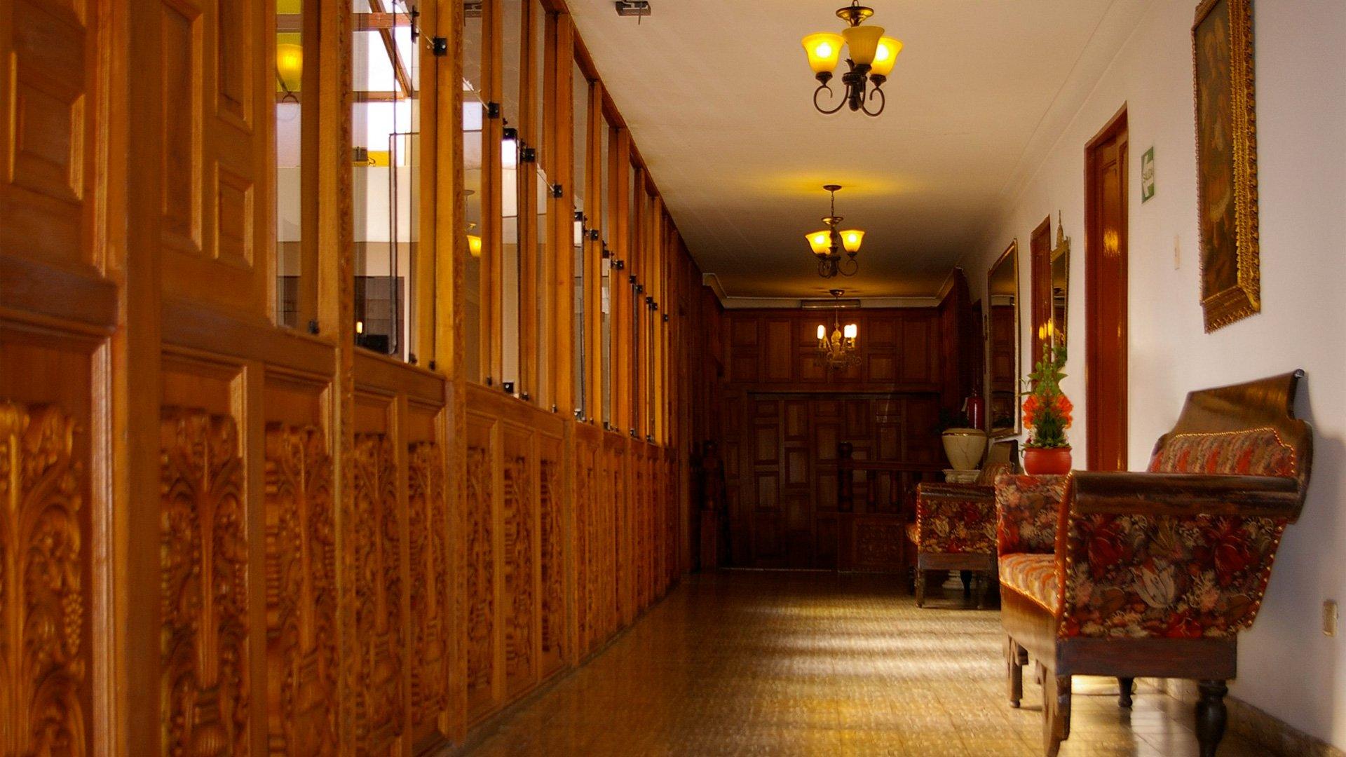 Terra Andina Hotel Lobby In Cusco Historic District