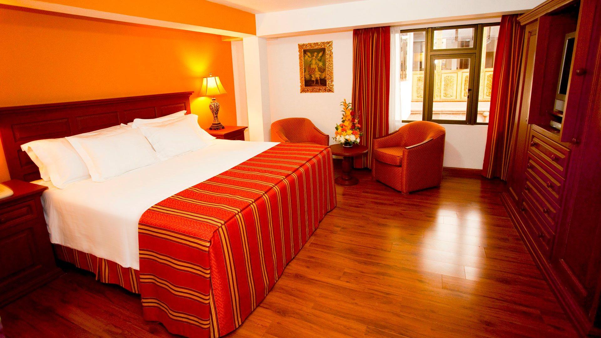 Terra Andina Hotel Bedroom